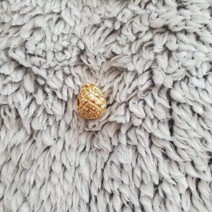 PANDORA Sparkling Pineapple 18k Gold plated charm